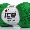 Lot of 6 Skeins Ice Yarns CAMILLA COTTON (100% Mercerized Cotton) Yarn Green