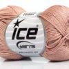 Lot of 6 Skeins Ice Yarns CAMILLA COTTON (100% Mercerized Cotton) Yarn Powder Pink