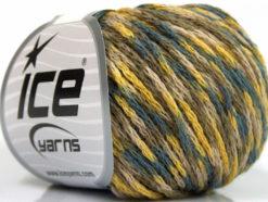Lot of 8 Skeins Ice Yarns SALE WINTER (40% Wool) Yarn Khaki Beige Yellow Grey