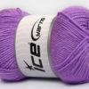 Lot of 4 x 100gr Skeins Ice Yarns DORA Hand Knitting Yarn Lavender