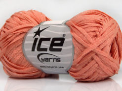 Lot of 8 Skeins Ice Yarns VIOLINO Hand Knitting Yarn Light Salmon