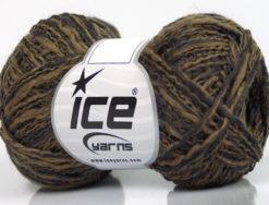 Lot of 8 Skeins Ice Yarns DOPPIO LANA (44% Wool) Yarn Camel Dark Maroon