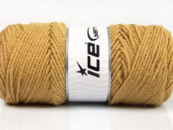 Lot of 4 x 100gr Skeins Ice Yarns SAVER 100 Hand Knitting Yarn Light Brown