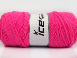 Lot of 4 x 100gr Skeins Ice Yarns SAVER 100 Hand Knitting Yarn Gipsy Pink