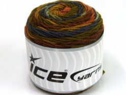 Lot of 3 x 100gr Skeins Ice Yarns CAKES BLUES Yarn Green Shades Purple Brown Shades