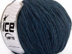 Lot of 8 Skeins Ice Yarns FIAMMATO (45% Wool) Hand Knitting Yarn Navy