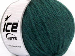 Lot of 3 x 100gr Skeins Ice Yarns SUPERBULKY WOOL (40% Wool) Yarn Teal Melange