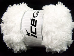 Lot of 2 x 200gr Skeins Ice Yarns LAMBKIN (100% MicroFiber) Yarn White