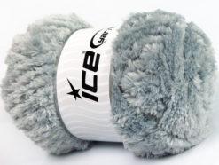 Lot of 4 x 100gr Skeins Ice Yarns PANDA (100% MicroFiber) Yarn Grey