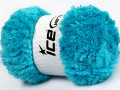 Lot of 4 x 100gr Skeins Ice Yarns PANDA (100% MicroFiber) Yarn Turquoise
