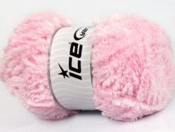 Lot of 4 x 100gr Skeins Ice Yarns PANDA (100% MicroFiber) Yarn Baby Pink