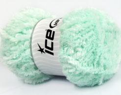 Lot of 4 x 100gr Skeins Ice Yarns PANDA (100% MicroFiber) Yarn Mint Green