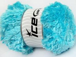 Lot of 4 x 100gr Skeins Ice Yarns PANDA (100% MicroFiber) Yarn Light Turquoise