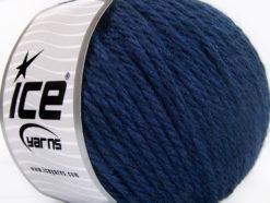 Lot of 3 x 100gr Skeins Ice Yarns SUPERBULKY WOOL (40% Wool) Yarn Dark Navy