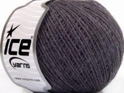 Lot of 8 Skeins Ice Yarns WOOL CORD SPORT (50% Wool) Hand Knitting Yarn Purple