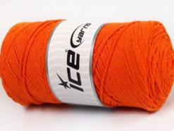 250 gr ICE YARNS MACRAME COTTON (100% Cotton) Hand Knitting Yarn Orange