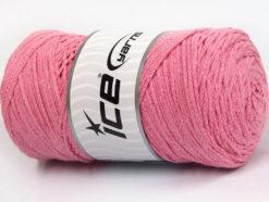250 gr ICE YARNS MACRAME COTTON (100% Cotton) Hand Knitting Yarn Light Pink