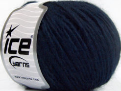 Lot of 8 Skeins Ice Yarns ACRYL CORD WORSTED Hand Knitting Yarn Navy