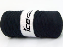 250 gr ICE YARNS JUMBO COTTON RIBBON (100% Recycled Cotton) Yarn Dark Navy