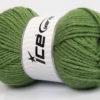 Lot of 4 x 100gr Skeins Ice Yarns ALPACA CLASSIC BULKY (25% Alpaca 25% Wool) Yarn Khaki