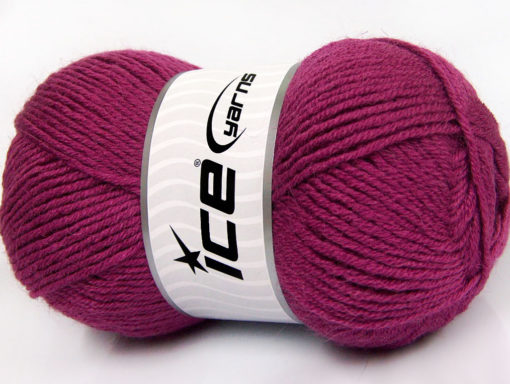 Lot of 4 x 100gr Skeins Ice Yarns ALPACA CLASSIC (25% Alpaca 25% Wool) Yarn Orchid