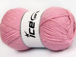 Lot of 4 x 100gr Skeins Ice Yarns ALPACA CLASSIC (25% Alpaca 25% Wool) Yarn Pink