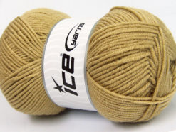 Lot of 4 x 100gr Skeins Ice Yarns CLASSIC ARAN Hand Knitting Yarn Beige