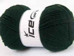 Lot of 4 x 100gr Skeins Ice Yarns CLASSIC ARAN Hand Knitting Yarn Dark Teal