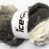Lot of 4 x 100gr Skeins Ice Yarns LAMBKIN COLOR Yarn Grey Shades White