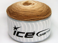 Lot of 3 x 100gr Skeins Ice Yarns CAKES BABY FINE Yarn Brown Shades