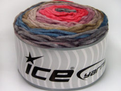 Lot of 2 x 150gr Skeins Ice Yarns CAKES CHENILLE Yarn Grey Jeans Blue Camel Lilac Salmon