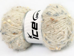Lot of 3 x 100gr Skeins Ice Yarns BONIBON Yarn Beige Grey Brown Shades