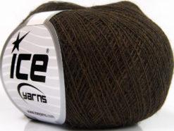 Lot of 10 Skeins Ice Yarns SALE WINTER (40% Wool 20% Viscose) Yarn Dark Brown