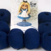 Lot of 8 Skeins Ice Yarns AMIGURUMI COTTON 25 (50% Cotton) Yarn Navy