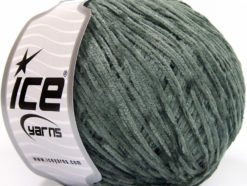 Lot of 6 Skeins Ice Yarns AMIGURUMI CHENILLE Hand Knitting Yarn Grey