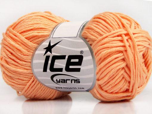 Lot of 8 Skeins Ice Yarns BABY SUMMER DK (50% Cotton) Yarn Light Salmon