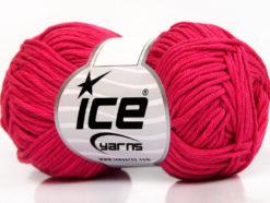 Lot of 8 Skeins Ice Yarns BABY SUMMER DK (50% Cotton) Yarn Fuchsia
