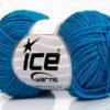 Lot of 8 Skeins Ice Yarns BABY SUMMER DK (50% Cotton) Yarn Dark Turquoise