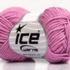 Lot of 8 Skeins Ice Yarns BABY SUMMER DK (50% Cotton) Hand Knitting Yarn Orchid