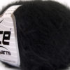 Lot of 10 Skeins Ice Yarns FREDDY WOOL (26% Wool 16% Viscose) Yarn Black