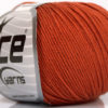 Lot of 8 Skeins Ice Yarns BABY SUMMER (60% Cotton) Hand Knitting Yarn Copper