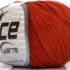 Lot of 8 Skeins Ice Yarns BABY SUMMER (60% Cotton) Yarn Marsala Red