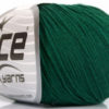 Lot of 8 Skeins Ice Yarns BABY SUMMER (60% Cotton) Yarn Dark Green