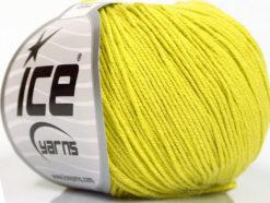 Lot of 4 Skeins Ice Yarns AMIGURUMI COTTON (60% Cotton) Yarn Light Olive Green