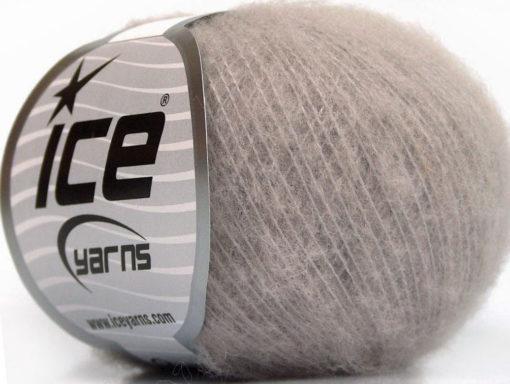 Lot of 10 Skeins Ice Yarns WOOL COMFORT SUPERFINE (34% Wool) Yarn Smoke Lilac