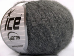 Lot of 10 Skeins Ice Yarns WOOL COMFORT SUPERFINE (34% Wool) Yarn Dark Grey
