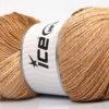 Lot of 4 x 100gr Skeins Ice Yarns MAGIC GLITZ Yarn Brown Shades Cream