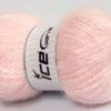 Lot of 2 x 150gr Skeins Ice Yarns SuperBulky ALPINE ANGORA (30% Angora) Yarn Light Pink