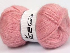 Lot of 2 x 150gr Skeins Ice Yarns SuperBulky ALPINE ANGORA (30% Angora) Yarn Pink
