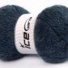 Lot of 2 x 150gr Skeins Ice Yarns SuperBulky ALPINE ANGORA (30% Angora) Yarn Jeans Blue